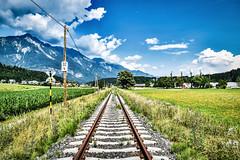 LAB_0702 (Hans-Peter Kurz) Tags: railway railroad reisen railscape eisenbahn zug train transport austria österreich outdoor gailtalbahn betriebs gmbh gailtal verein kärnten eingestellt stillgelegt reaktivierung hermagor podlanig gleisneulage