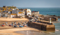 St Ives harbour ⚓️⛵️⛵️ (martin.baskill) Tags: boats harbour sand buildings light cornwall sea seagulls