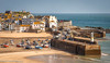 St Ives harbour (martin.baskill) Tags: boats harbour sand buildings light cornwall sea seagulls