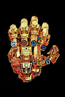 The Infinity Herocore Gauntlet #7 (with Prisma effect)