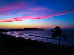 Peace after the storm (kateb0625) Tags: wind waves air blueskies weather summer clearskies palmtree tourist travel explore peace calm photography scenary landscape sand reflection water beach sky colours sunset clouds beautiful view mexico ocean