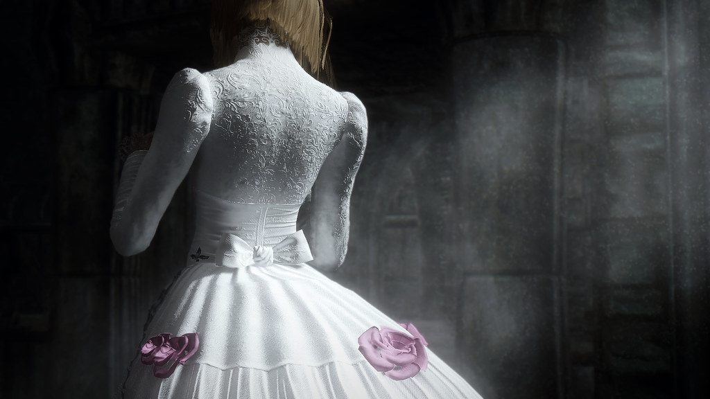 Skyrim Wedding Dress.Skyrim Wedding Guests Mod