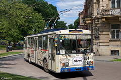 Skoda 14Tr11/6 #604, Lviv, 2018/05/20. (lg-trains) Tags: ukraine ukrainian transport lviv