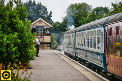 _MG_0055-5 (Sprocket Photography) Tags: eor eppingongarrailway epping essex northweald blakehall ongar branchline heritage railway busroute londonbuscompany camra realale festival steam signalbox platform train carriage