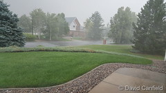 July 25, 2018 - Moderate rain in Broomfield. (David Canfield)