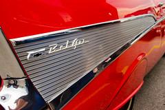 Chevrolet Bel Air (Rackelh) Tags: car cars classiccar classic belair red cruise show bradford ontario canada