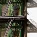 San Francisco – Columbus Tower / Fire Escape Ladders & Platform Shadows