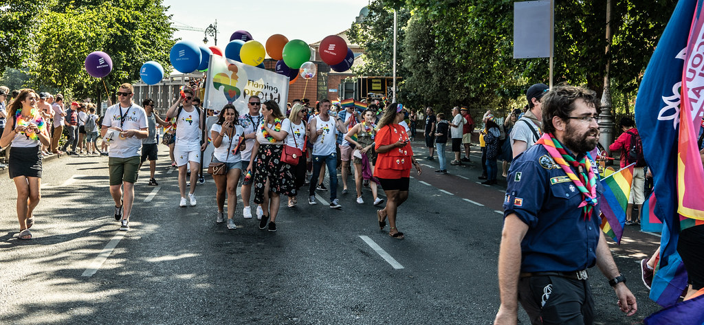 ABOUT SIXTY THOUSAND TOOK PART IN THE DUBLIN LGBTI+ PARADE TODAY[ SATURDAY 30 JUNE 2018] X-100135