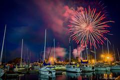 Fireworks 2018 (Melindros1152) Tags: fireworks lake monroe longexposure sanford fl 4thofjuly