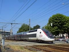 TGV Euroduplex 3UFC n°879 (ChristopherSNCF56) Tags: tgv duplex euroduplex 879 inoui carmillon sncf train rame lorient