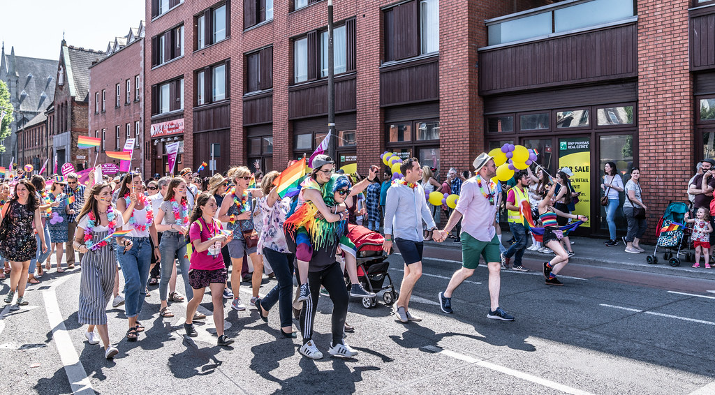 ABOUT SIXTY THOUSAND TOOK PART IN THE DUBLIN LGBTI+ PARADE TODAY[ SATURDAY 30 JUNE 2018]-141732
