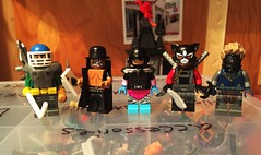 DC not OC (Lord Allo) Tags: lego dc villains sportsmaster double down rainbow raider lynx savant