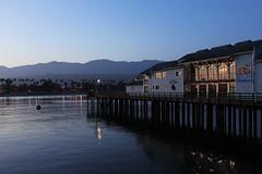 Santa Barbara, California - Stearns Wharf (russ david) Tags: santa barbara ca california sunset stearns wharf pacific ocean palm trees beach water june 2018 museum natural history sea center