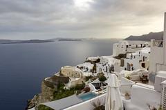 Oia (Santorini - Grecia) (U2iano) Tags: oia santorini grecia hellas greece sunset atardecer agua mar isla bahia oceano