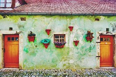 Cute house in cesky krumlov, Czech (qqazwws18) Tags: taiwan sonya6000 sony traveler ceskykrumlov czech travel