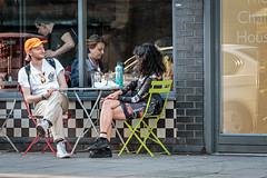 Pleased to meet you... (PhredKH) Tags: canonphotography fredkh photosbyphredkh phredkh splendid 70200mm canoneos7dmarkii ef70200mmf28lisiiusm people peoplewatching peopleonthestreet streetphotography candid streetscene streetsoflondon london londonstreets cityoflondon