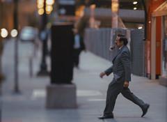 Smoking That Pipe (Jovan Jimenez) Tags: smoking sony alpha a6500 6500 pipe tiltshift nikon series e 100mm f28 eseries seriese ilce man older kipon street chicago people suit