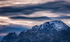 Cloudwaves (Harold van den Berge) Tags: alpen alps austria bergen berglandschap clouds haroldvandenberge hiking landscape landschap leefilter lucht mountains oostenrijk outdoor salzburgerland sky sneeuw snow summit sunset wolken zonsondergang canon70200lf4