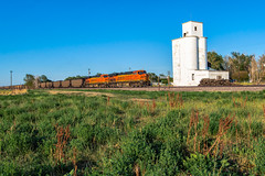 RR-20180710-BrushSub-146-e (skyviewtim) Tags: bnsf6401 coalload coloradorailroads coloradotrains hillrose colorado unitedstates us