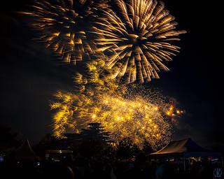 Feu d'artifice du 14 juillet 2018 - Valence