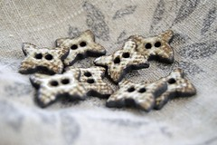 butterfly buttons (Cherryhill Studio) Tags: ceramic handmade ceramicbuttons buttons butterflybuttons butterfly