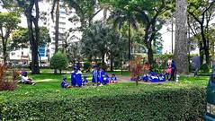 Tao Dan Park Saigon (Rene Jacobs - Picsandtravel) Tags: vietnam saigon hochiminh ho chi minh city park taodanpark tao dan tempel nature natur kinder sport tai blumen flowers indochina