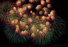 Fireworks (Lee Rosenbaum) Tags: mqabba night malta composite landscape longexposure explosion fireworks limqabba mt timestack feastofourladyofthelily