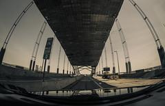 Bridge under construction (Resad Adrian) Tags: bridge under construction pennsylvania new jersey lines architecture