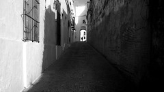Another lovely day in Andalusia (parenthesedemparenthese@yahoo.com) Tags: dem 2018 alone andalousie andalusia arcade arcosdelafrontera bn espagne espana mai man monochrome nb noiretblanc silhouette spain street textures blackandwhite bnw break byn canon600d ef24mmf28 grandcontraste highcontrast homme may mur printemps scalestudy seul spring streetphotography wall