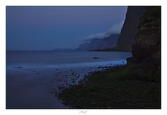 Purple Sea (Max Angelsburger) Tags: madeira island atlantic ocean bolder summer seascape waves crashing weather cliffs tides elements wind faoaöüpmzadpcastelo bolders moss water longexposure colorful sky volcanic