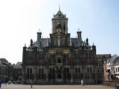 Hôtel de Ville (archipicture71) Tags: paysbas hollande delft hotel ville mairie donjon renaissance stadhuis city hall netherlands place marché markt