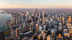 Chicago Skyline Aerial Panorama (tobyharriman) Tags: 2015 chicago fall illinois r44 adventure aerial art artist beautiful best chi chitown chicity chimneyrock city cityscape cityscapes color colorful commercial custom fineart helicopter images landscape lifestyle october outdoor pano panorama photographer photography photos pictures prints professional robinson rotorzen sanfrancisco scenic skyline skylines stock sunrise timelapse tobyharriman travel unitedstates