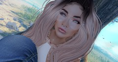 A little me time.. (Torrie' Fookernut) Tags: thechapterfour shook lipstick makeup eyeshadow sunglasses mesh catwa portrait tattoo piercings besom