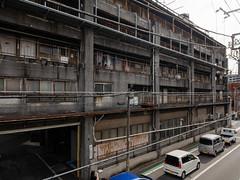 old apartment house #3 (kasa51) Tags: architecture apartment ruined rusty yokohama japan company dormitory 社員寮 building