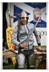 Sword & Armour (FotoFling Scotland) Tags: sword armour lochlomond costume male highlandgames nmp