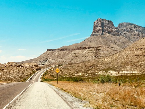 El Capitan and Guadalupe Peak, Texas