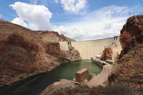 32/365/3684 (July 13, 2018) - Theodore Roosevelt Dam & Roosevelt Lake Bridge (Tonto National Forest - Roosevelt, Arizona) - July 13, 2018