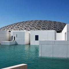 Dome (Arni J.M.) Tags: architecture building dome jeannouvel louvre museum metal sky waterfront lattice louvreabudhabi abudhabi uae
