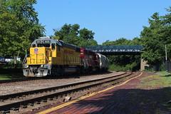 UP 805 (CC 8039) Tags: up hlcx trains gp38 kirkwood missouri