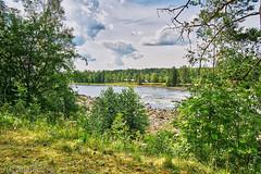 Vindeln 20180715 (johan.bergenstrahle) Tags: 2018 älv finepicsse hdr juli july landscape landskap natur river sommar summer sverige sweden vindeln vindelälven