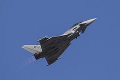 Italian AF Typhoon (Dougie Edmond) Tags: kempsford england unitedkingdom gb air show tatoo military aircraft