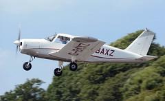 G-BAXZ (goweravig) Tags: gbaxz pembrey visiting aircraft piper cherokee carmarthenshire wales uk pembreyairport