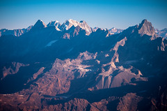 the Himalayas from the air (CamelKW) Tags: abc annapurnabasecamptrek annapurnaregiontrek kathmandu mbc machapuchare machapucharebasecamp nepal pokhara