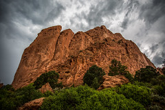Garden of the Gods (Gabby Pike) Tags: colorado springs garden gods landscape photography mountains mountain range nature rocks sky rock formation outdoor outdoors outside hill climb trees clouds storm