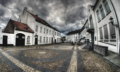 A white town named Thorn (Fr@nk ) Tags: town whitetown thorn limburg thenetherlands holland hdr krumpaaf frnk interesting interestingness wolken clouds nuages sky summer grey awesome city plein wingerd lucht ciel himmel himmlen cityscape sonynex houses architecture hot europe water weather photogear sigma fisheye eye adult travel discover discovery national geographic reis reizen hiking traveling wandering sport ber terras restaurant pannenkoek photomatix processing mrtungsten62 centac101 mrtungsten62rec rec0309 coth5 coth4 coth3 coth2 coth happy walking contrast red