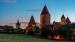 Château de Chenaux, Estavayer-le-Lac (Switzerland) (christian.rey) Tags: chenaux château estavayerlelac broye fribourg switzerland swiss castle schloss suisse schweiz hdr sony alpha a7r2 a7rii 24105 bluehour heurebleue saintlaurent collégiale