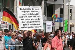 """01.07.2018 Cottbus: Extrem rechter Aufmarsch des Vereins """"Zukunft Heimat"""" (RechercheNetzwerk.Berlin) Tags: cottbus zukunftheimat rassismus neonazis identitäre pegida reichsbürger afd extremerechte"""