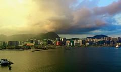 Gewitter über Hong Kong (ArminBe) Tags: china hongkong hong gewitter thunderstorm clouds water sky ngc