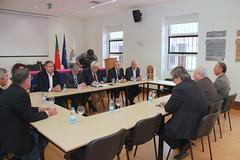 Reunião com a União das Misericórdias Portuguesas