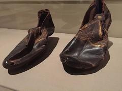 1-10 Codex and Craft at BGC (MsSusanB) Tags: metropolitan museum shoes egyptian gilded cutwork bard bgc bardgraduatecenter books codex codices craft ancientworld history technology